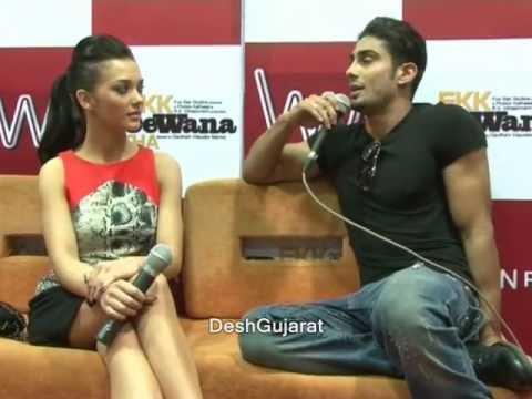 Amy Jackson & Prateik Babbar - Ek Deewana Tha promotion ...