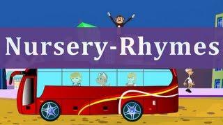 Nursery Rhymes | Wheels On The Bus | Kids Songs With Lyrics