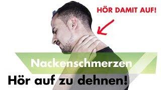 1 Fehler bei Nackenverspannungen den du mit Schmerz bezahlst