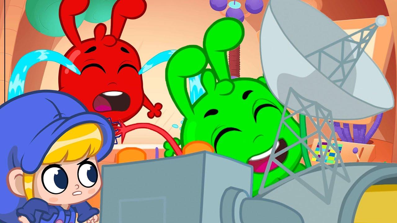 Morphle Has Time Travel Trouble - Orphle's Antics + More Kids Cartoons | Morphle vs Orphle Adventure