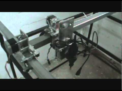 3 Axis home made CNC router