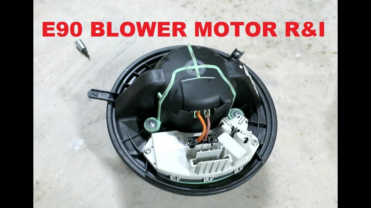 Bmw blower motor replacement cost
