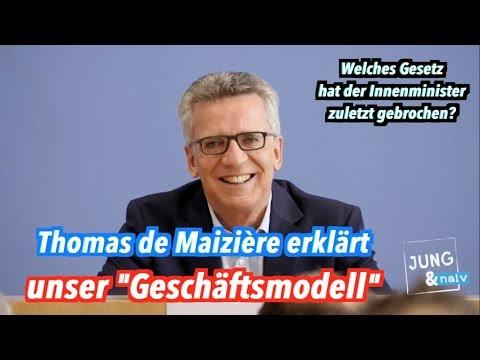 Die Hölle friert zu: Thomas de Maizière lobt Tilo