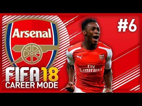 DANNY WELBECK IS OP! FIFA 18 ARSENAL CAREER MODE - EPISODE #6