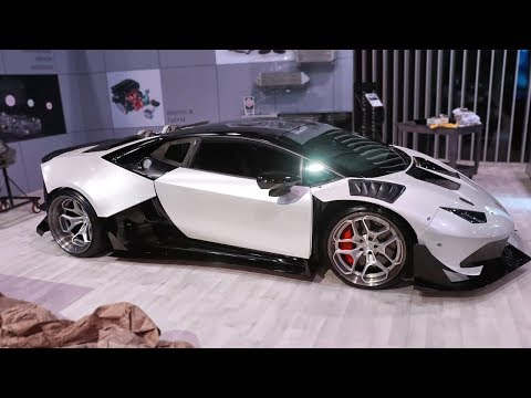 Unveiling the Huracan at SEMA 2019 and Our First Real Drive