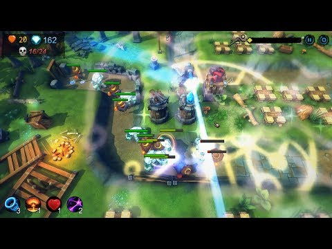 Yet another tower defence Gameplay (PC Game) HD 1080p 60FPS