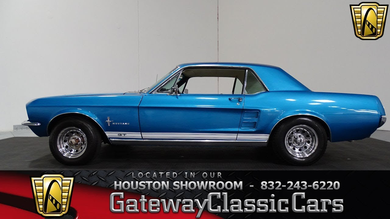 Ford Mustang Gt Gateway Classic Cars Houston Showroom