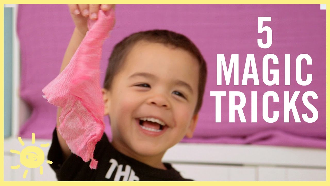 PLAY | 5 Magic Tricks Kids Can DO! - YouTube