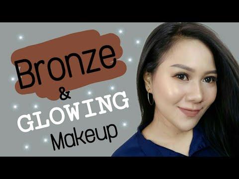 bronze-glowing-makeup