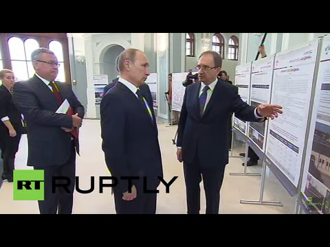 Russia: Putin talks campus life at St. Petersburg university