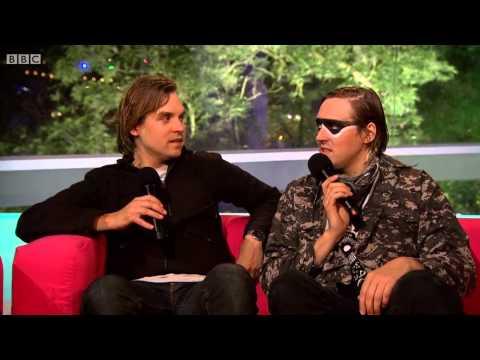 Interview with Arcade Fire after headlining Glastonbury 2014