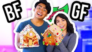 Baixar BOYFRIEND VS GIRLFRIEND GINGERBREAD HOUSE SHOWDOWN! (Guava Juice Edition)
