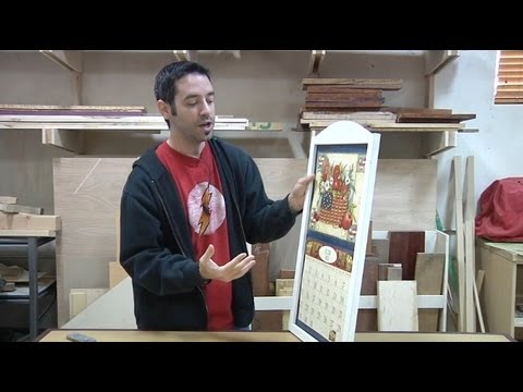 162 how to build a calendar frame part 1 of 2 the wood whisperer