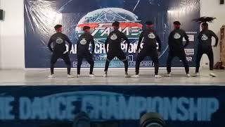The honest dance crew profrom by fame dance championship in kanpur  judgment by sagar bora 13.13crew