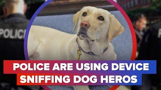 Device sniffing dogs being used by police (CNET News)