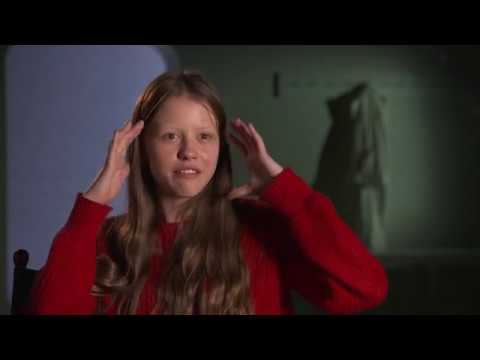 "A Cure For Wellness ""Hannah"" Behind The Scenes Interview - Mia Goth"