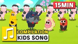 TRADITIONAL SONGS FOR KIDS | COMPILATION | LARVA KIDS