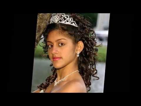 Quinceanera Hairstyles For Long Hair Youtube