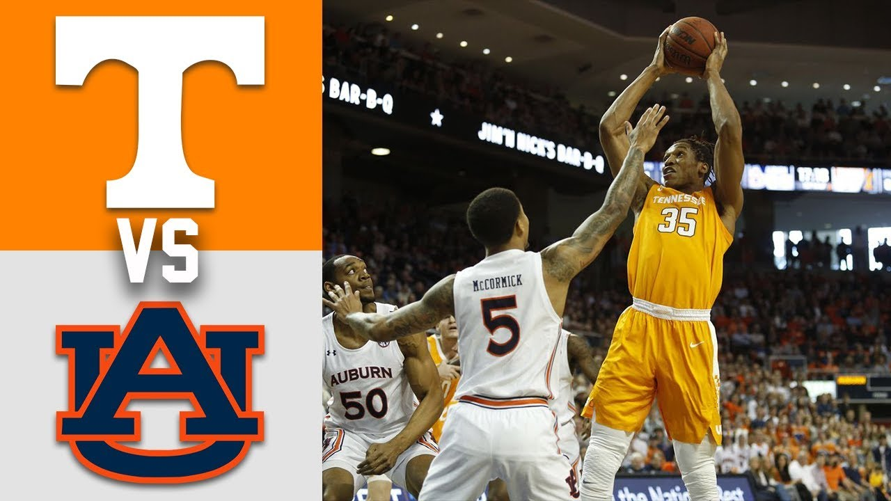 Tennessee vs #13 Auburn Highlights 2020 College Basketball