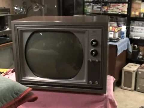 1964 Rca Victor Ctc-16 Color Television Repairs And Restoration Completed