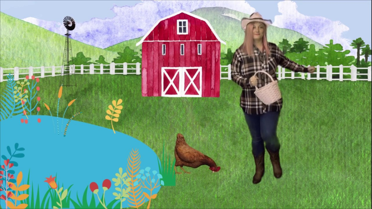Old Macdonald Had A Farm | Nursery Rhymes And Songs For Kids | Recess With Jess