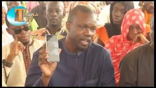 Ousmane SONKO chez Mariama SAGNA pour présente ses condoléance