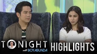 TWBA: Julia Barretto reveals that Joshua  is still trying to regain her trust