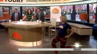 "Dylan Dreyer - modeling ""sweater tights"""