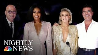 'America's Got Talent' Under Scrutiny After Departure Of Judge Gabrielle Union | NBC Nightly News
