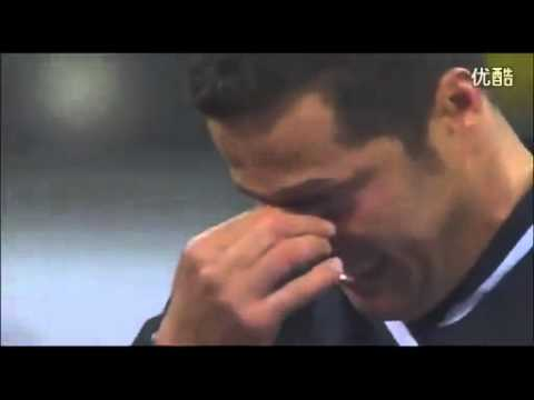 Julio Cesar says goodbye to Inter Milan with tears