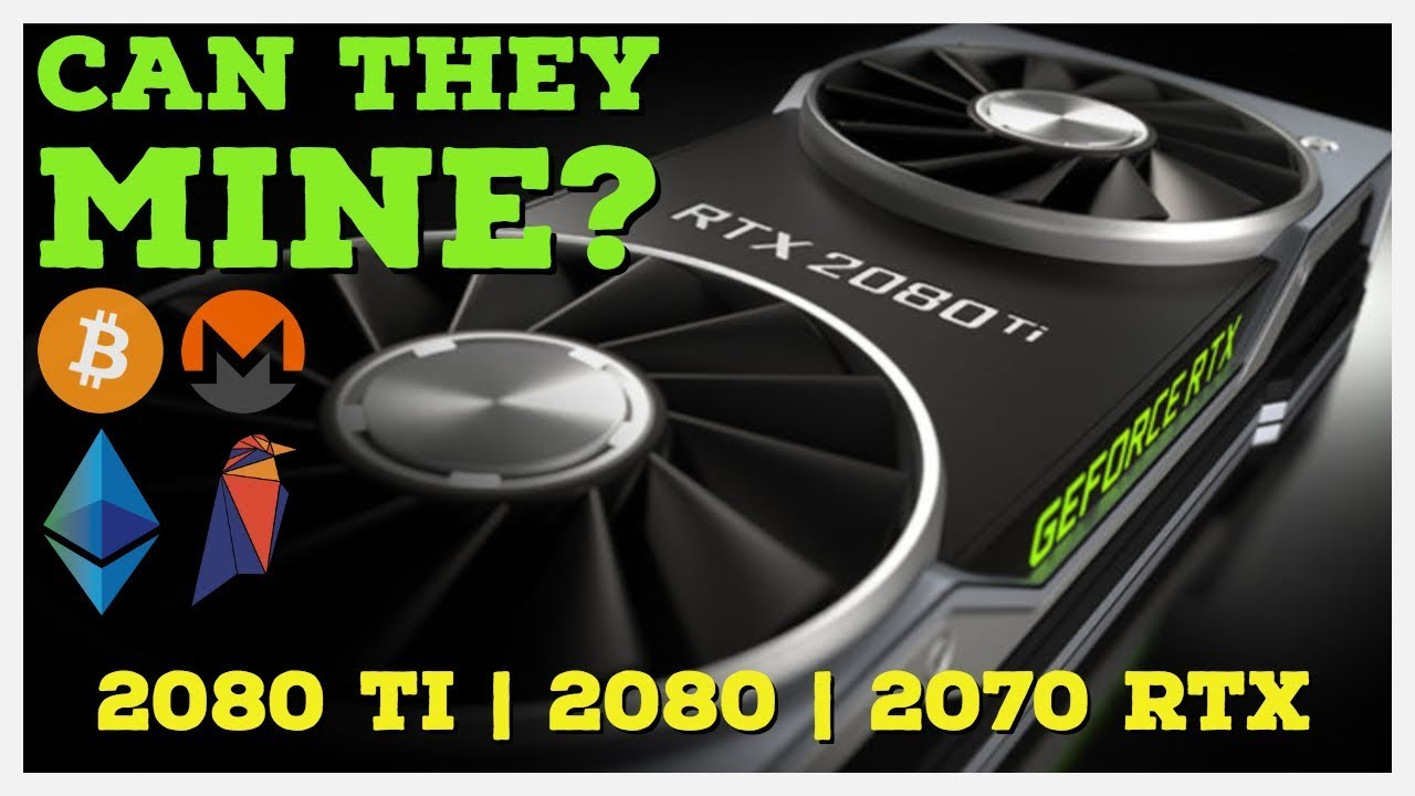 Should You Pre Order New Nvidia Rtx 2070 2080 2080 Ti For Mining Youtube Are rtx graphics cards better for crypto bitcoin gpu mining than other current gpus on the market? youtube