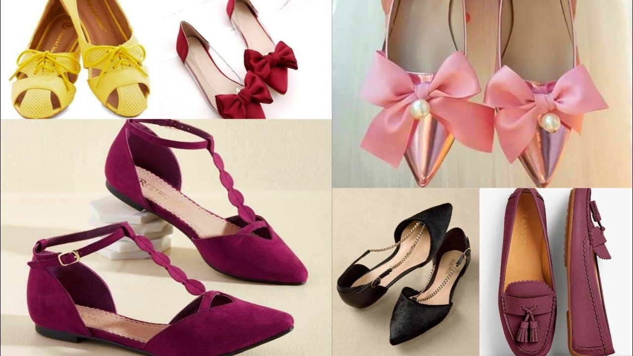 Winter Flat Pumps Shoes Designs For