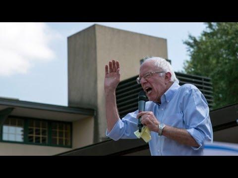 Sanders: 'The business model of Wall Street is fraud...