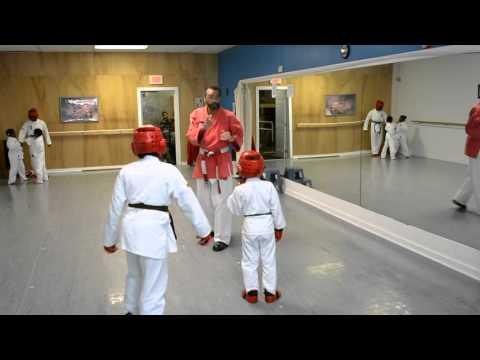 Tillman Ryu Karate Do Kumite Training