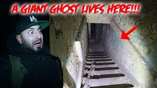 (HAUNTED) A GHOST LIVES IN THIS GIANT ABANDONED HAUNTED MANSION! we FOUND SOMETHING!!