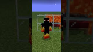 ALDEÃO vs LAVA no MINECRAFT - 0 de qi? #shorts