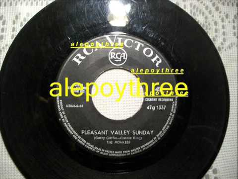 The Monkees - Pleasant Valley Sunday 45 rpm 1