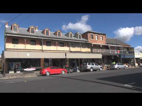 Historical Town of Morpeth, New South Wales