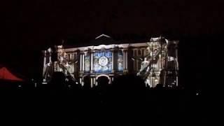 Световое шоу 3D  5.11.2017 СПб - Дворцовая площадь