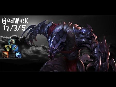 League of Legends - Warwick into Godwick Damage Build
