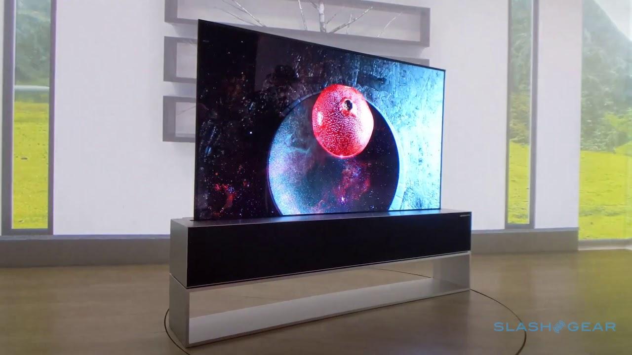 LG's rollable TV is slick enough to silence any skeptics - SlashGear