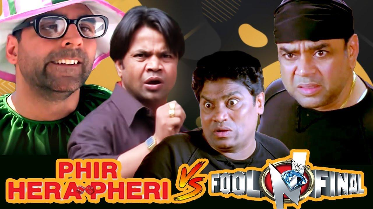 Phir Hera Pheri V/S Fool N Final | Best Comedy Scenes | Paresh Rawal - Johny Lever Akshay Kumar