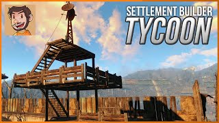 Flabaliki Plays: Settlement Builder Tycoon (Fallout 4)