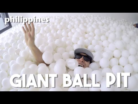 Giant Ball Pit in Manila (Fun Things to Do in the Philippines - ft. Say Tioco Artillero)