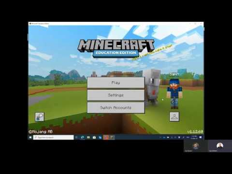 Remote Learning With Minecraft Education Edition Across The Internet Samuelmcneill Com