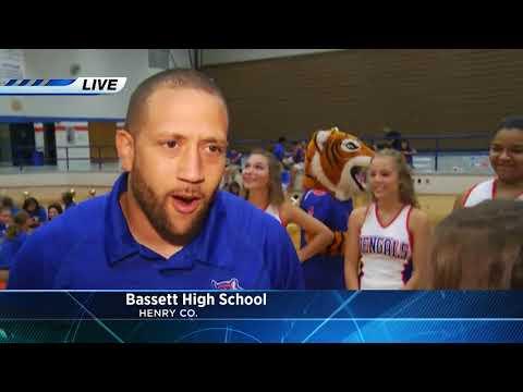 WSLS10 1st and 10 Kickoff-- Bassett High School 2017