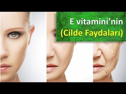E vitamini'nin Cilde Faydaları
