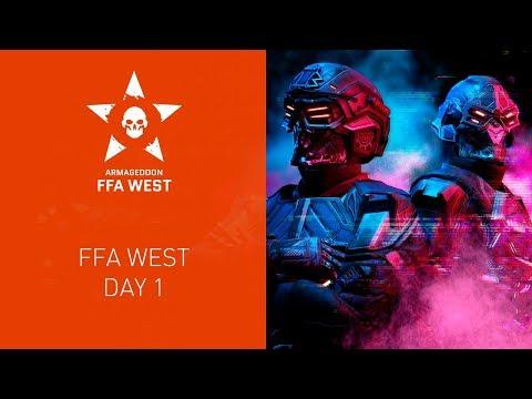 Warface Armageddon: FFA West. Day 1