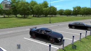 City Car Driving 1.5 Nissan Skyline GT-R R34 Gameplay w/Logitech G27