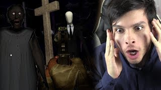 NUEVA ARMA !! ¿PODRÉ DISPARARLE A SLENDERMAN? - Granny 2 (Horror Game)